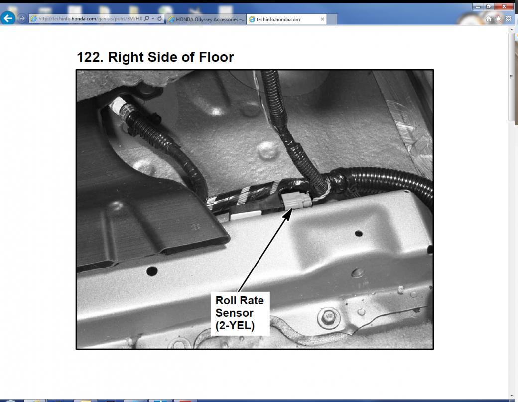 2006 Honda Odyssey Touring Srs Light Screenshot 2016 12 30 01 09