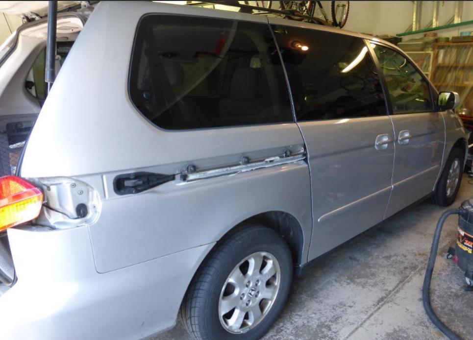 Temp Fix For Broken Passenger Side Sliding Door Cable Honda Odyssey Forum