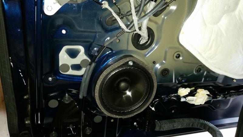 Removing Rear Sliding Door Panel Interior Of 2017 Speaker Jpg