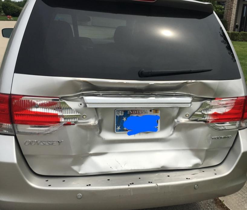 Tailgate Replacement-2008 Honda Odyssey Touring