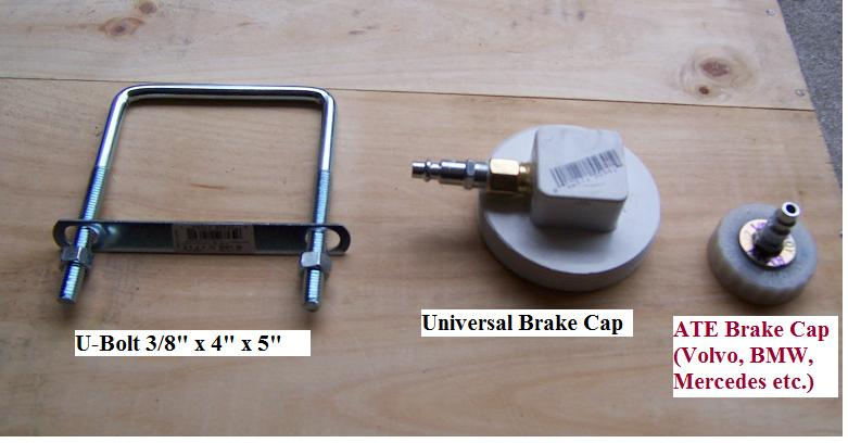 Brake Reservoir Cap For Pressure Bleeder