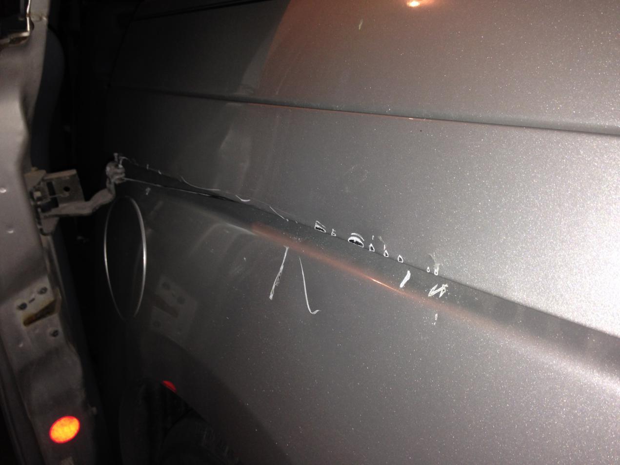 Psa 2007 Oddy Rear Sliding Door Fell Off