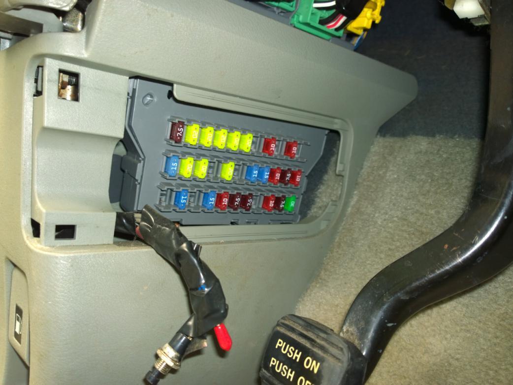 Slide Door idiot light is on Page 6 – Honda Odyssey Door Fuse Box