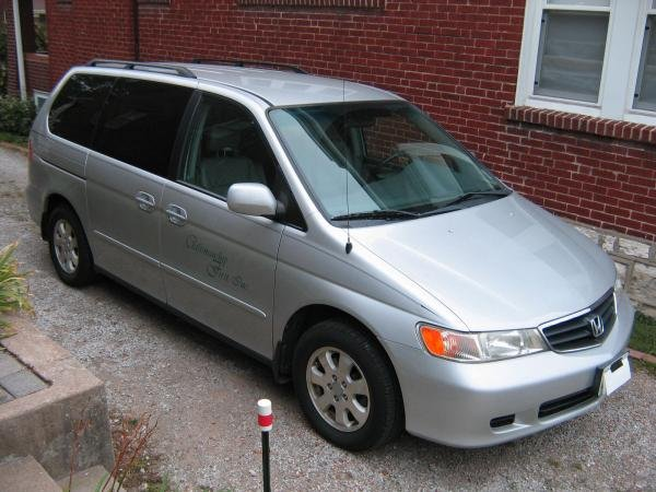 Showcase cover image for RV Hecker's 2002 Honda Odyssey EX-L