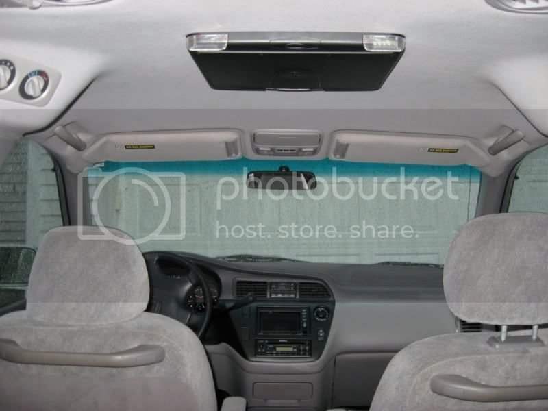 Aftermarket Overhead Flip Down Monitors Honda Odyssey Forum