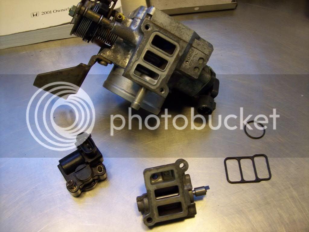 DIY, Cleaning IAC valve, idle surge no more | Honda Odyssey Forum