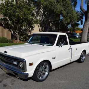 1970 Chevy. Fuel injected, custom interior, 22s, air ride, many upgrades